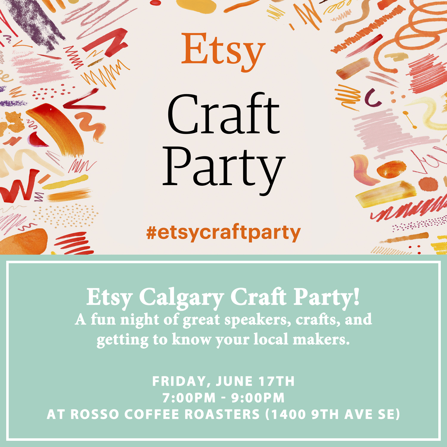 Etsy Craft Party Calgary