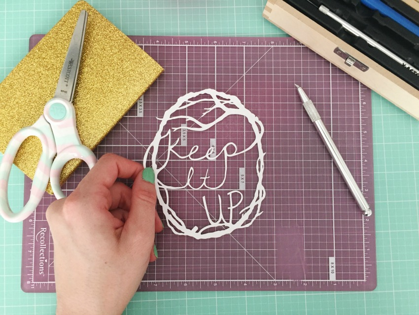 Etsy Calgary Craft Party - Paper Cutting Tutorial