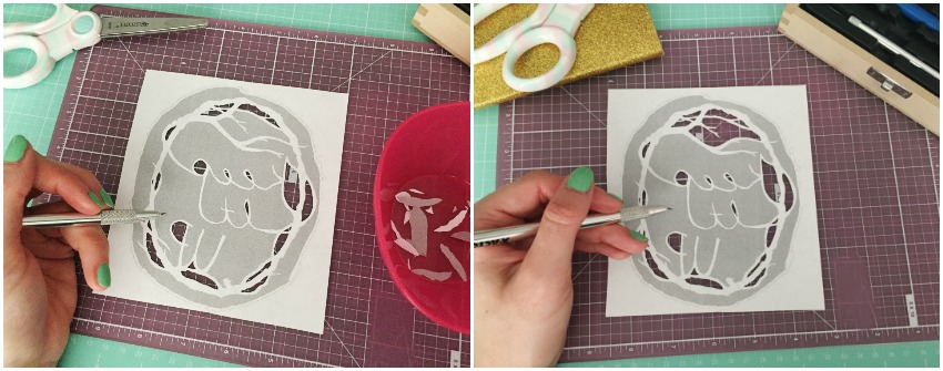 Paper Cutting Tutorial - Etsy Craft Party