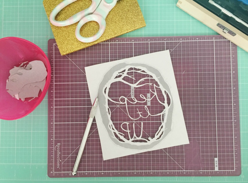 Paper Cutting Tutorial - Etsy Craft Party - Etsy Calgary blog