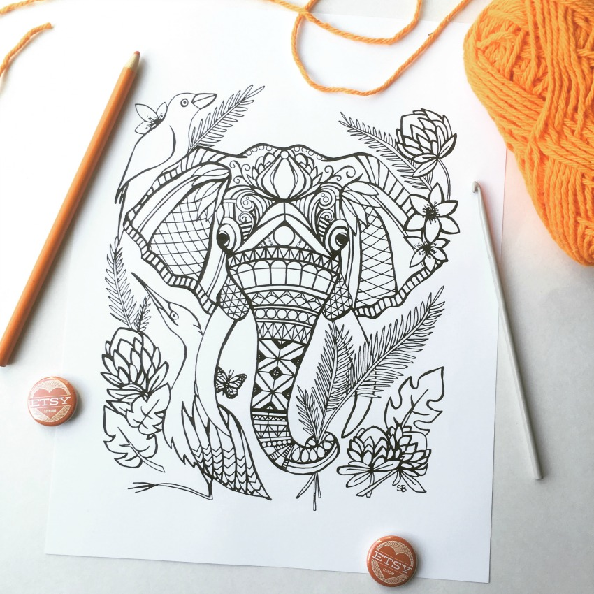 Coloring Page for Blog