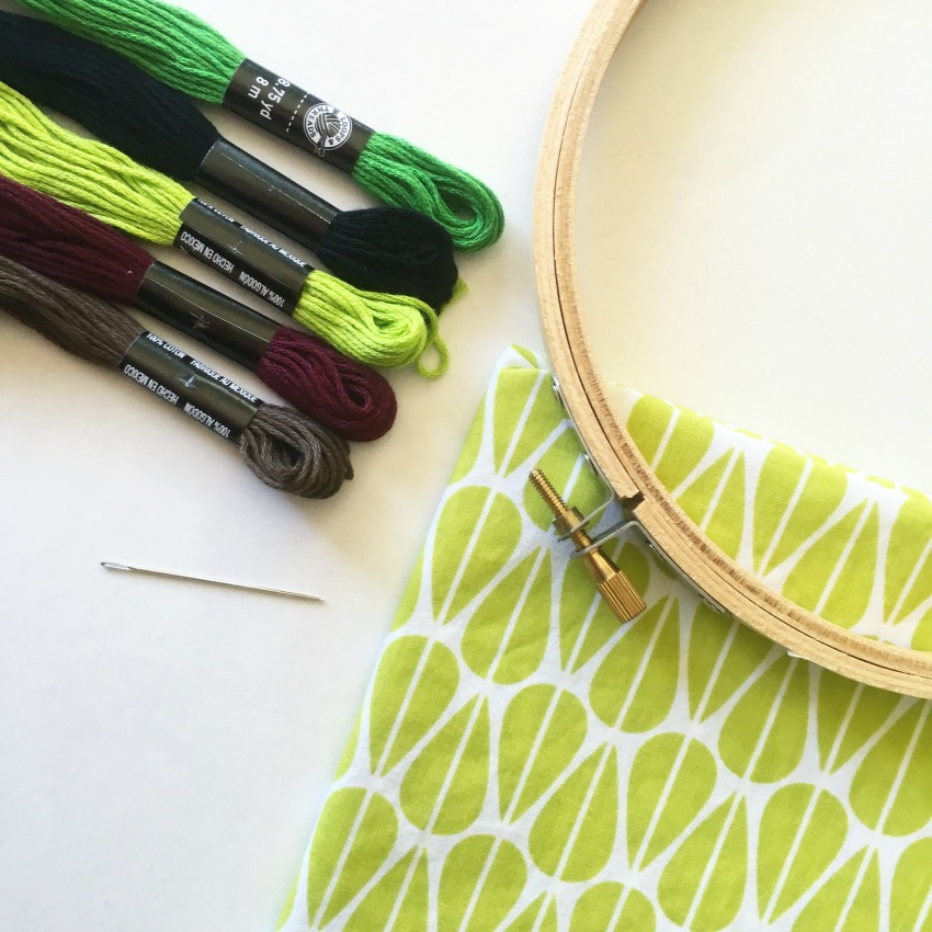Embroidery Tutorial - Etsy Craft Party