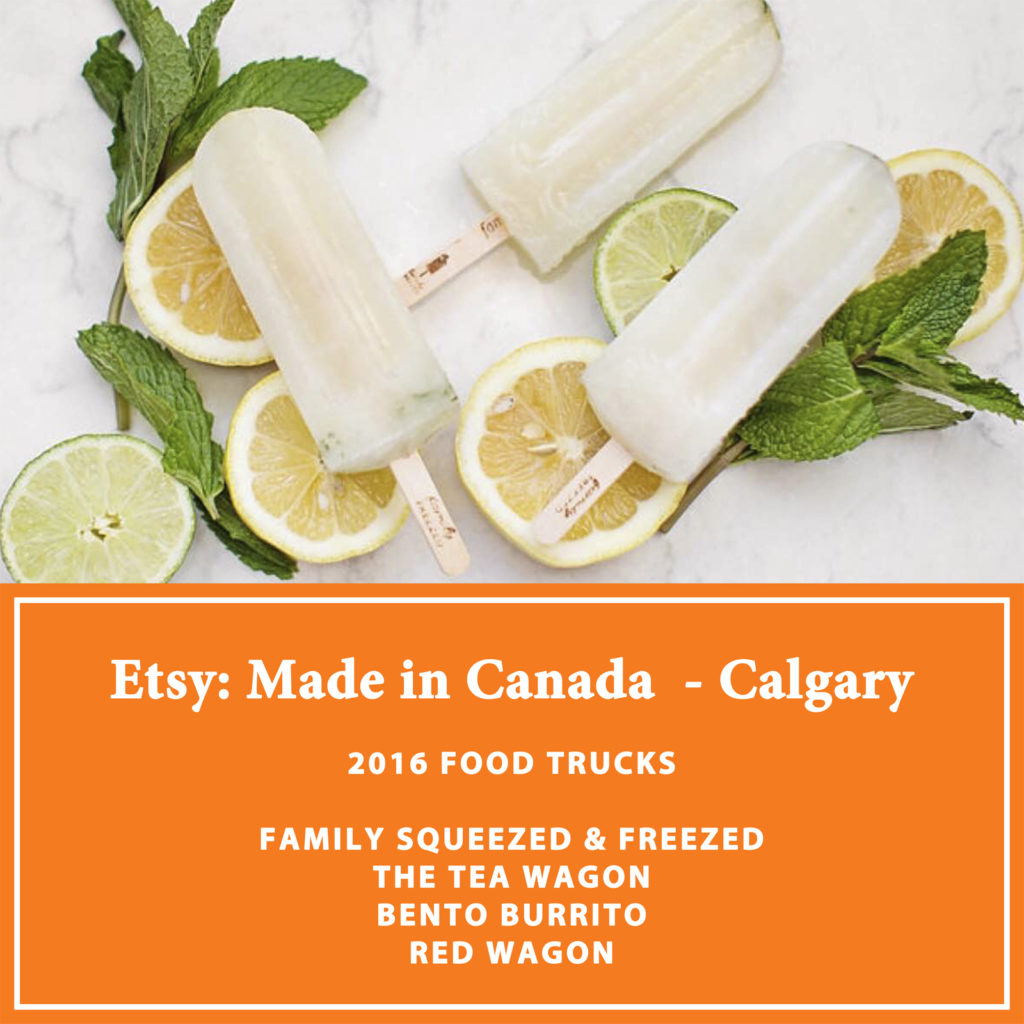 Etsy Calgary - Food Trucks Announcementw